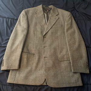 Tommy Hilfiger 44R Virgin Wool Plaid Blazer